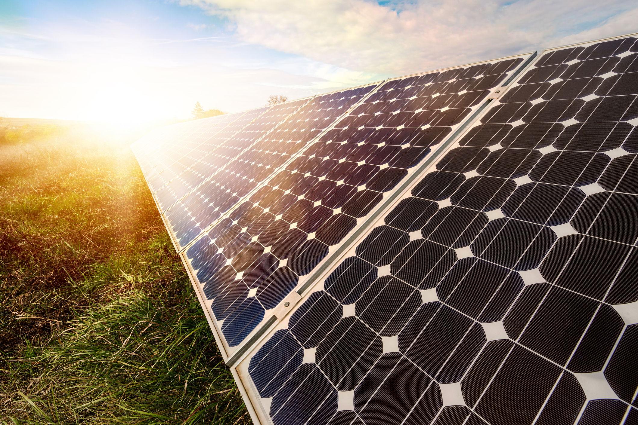 solar panel install process