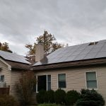 residential solar panels on home in phoenixville pa