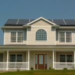custom designed solar panels on a house in Elizabethtown, PA