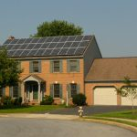 Lititz, PA home with solar panels installed