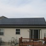 back of house with solar panels ephrata
