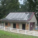 solar panels on barn in york pa
