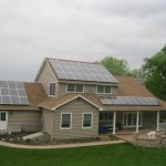 residential home in conestoga pa with solar panels