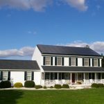 home in lititz pa with solar on roof
