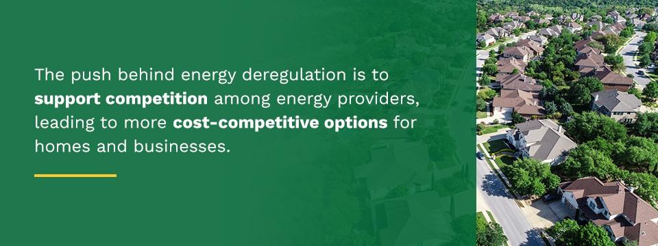 government deregulation