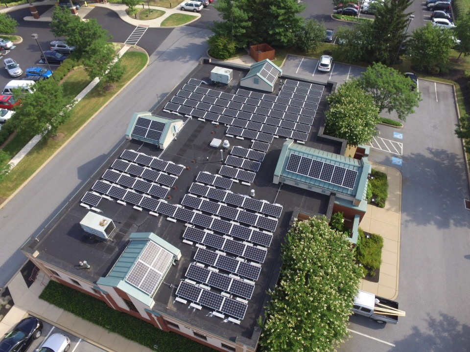 business with solar panels
