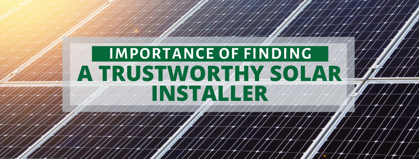 find a trustworthy solar installer in Lancaster