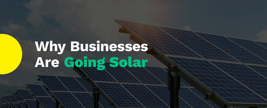Why Businesses Are Going Solar