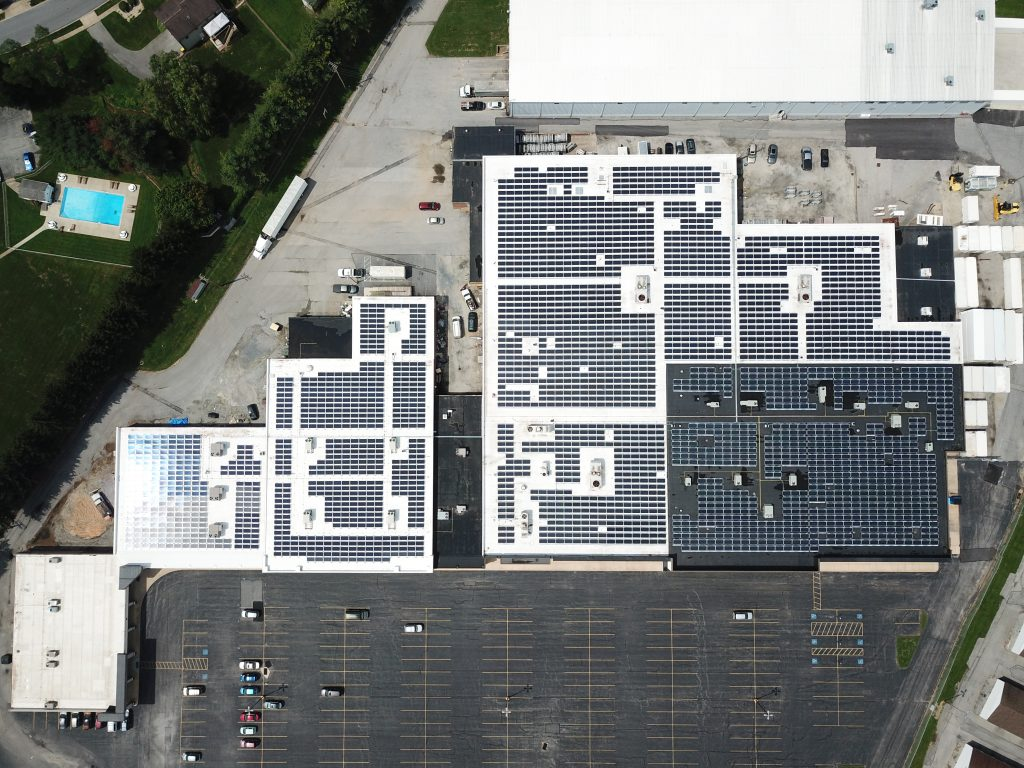 commercial solar panels
