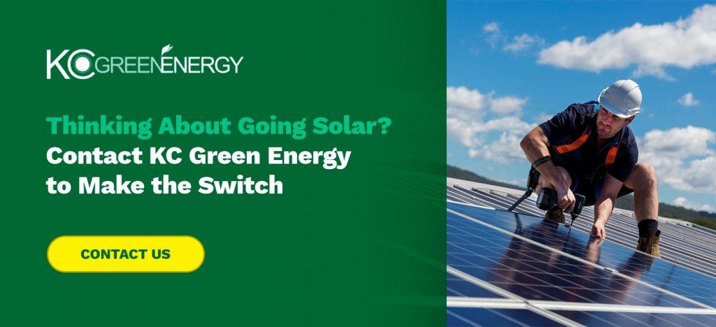 go solar with kc green